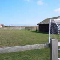 Football Pitch at The Bay FIley Holiday Village | northolmefiley.com